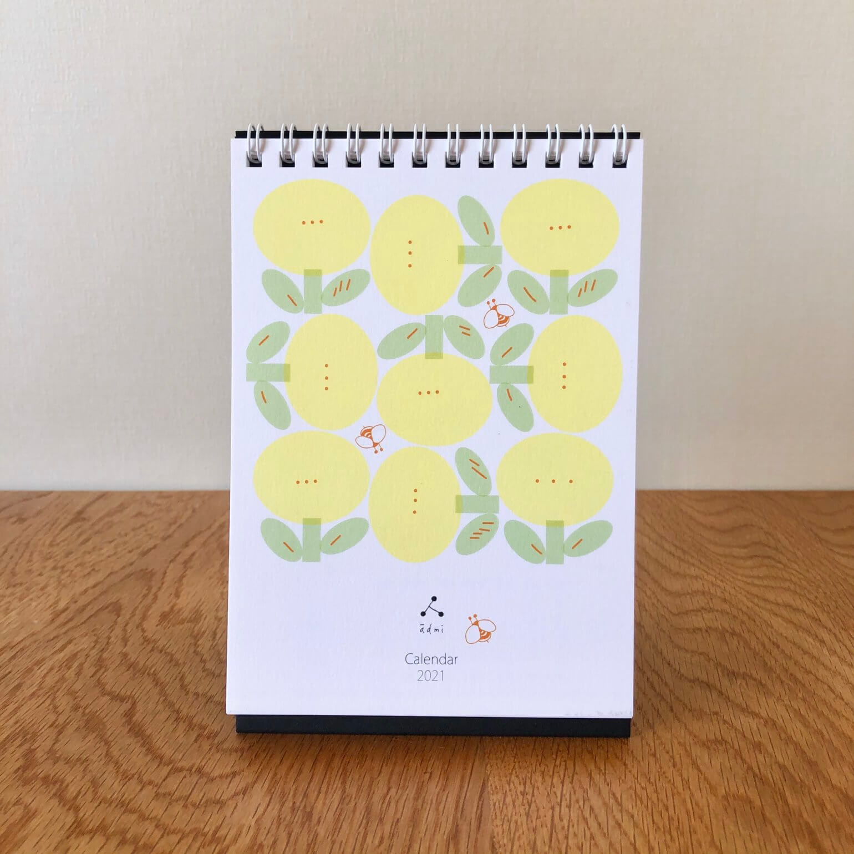 admiの卓上カレンダー